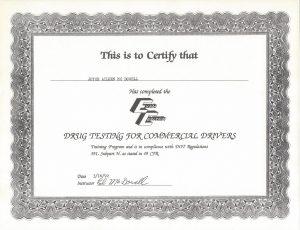 1992 Trucking Drug Test jpeg