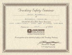 1995 Trucking Safety Seminar jpeg