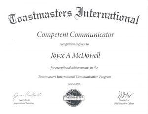 2016 6 2 Competent Communicator