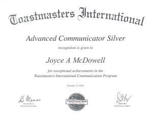 2019 10 17 Advanced Communicator Silver