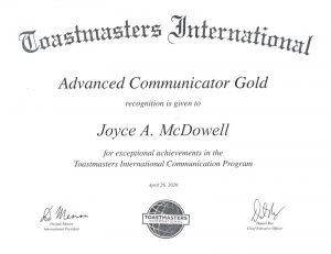 2020 4 26 Advanced Communicator Gold